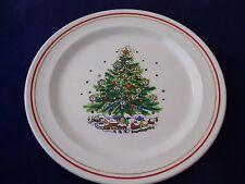 Vintage Salem Christmas Eve Salad Dessert Plate by Viktor Schreckengost England