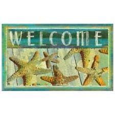 "Starfish Theme ""Welcome"" Floor Mat MatMates ""Jewels of the Sea"" 12320D"