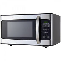 Countertop Kitchen Digital LED Microwave Oven Hamilton Beach 1.1 Cu ft 1000W New