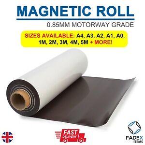 MAGNETIC SHEET SIGN VINYL 0.85MM MOTORWAY GRADE VEHICLE FLEXIBLE 620MM &1020MM