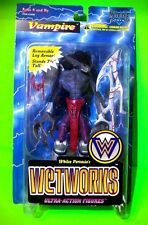 Wetworks VAMPIRE Ultra Action Figure McFarlane Toys Bio Clip Trading Card READ!