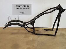 2014 Victory Vegas 8-Ball 106ci Main Frame Chassis SLVG TL 10-16 V005
