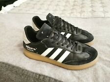 Mens Adidas Samba Cloudfoam Black/White Leather/Suede Size UK 9 Great Condition