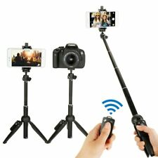Yunteng Wireless Selfie Stick Tripod Monopod with Bluetooth Remote Shutter