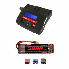 Venom 8.4V 5000mAh NiMH Flat Pack Battery with Pro 2 Charger Combo