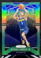 Michael Porter Jr 2019-20 Panini Prizm Green #88 2nd Year Refractor Nuggets
