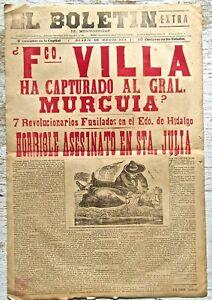 Jose Guadalupe Posada Original Broadsheet (V)