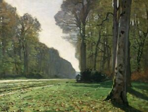 Le Pave de Chailly Claude Monet Fine Art Painting Print CANVAS Giclee Small 8x10