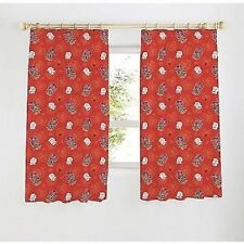 """England Official Rugby RFU 66"""" x 54"""" Ready Made Curtains Boys & Girls Bedrooms"""