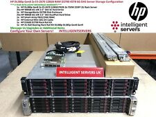 HP DL380p Gen8 2x E5-2670 128GB D2700 45TB DAS Server Configuration