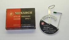 Monarch Stylus Pressure Gauge SPG-1 Made In Japan In Box
