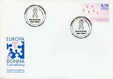 Luxembourg 2018 FDC Breast Cancer Pink Ribbon 1v Set Cover Medical Health Stamps