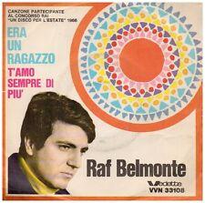 15055 - RAF BELMONTE - ERA UN RAGAZZO