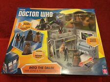Doctor Who Into The Dalek Set with 5 figures 3.75 inch 12th Doctor Clara Oswald