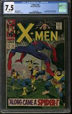 X-Men #35 CGC 7.5 (OW) 1st Changeling Spider-Man Appearance