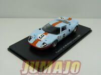 24H84E 1/43 HACHETTES 24 Heures Le Mans : Ford GT 40 #9 Winner 1968 Rodriguez