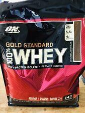 Optimum Nutrition 100% Gold Standard WHEY PROTEIN 10 lbs Extreme Milk Chocolate