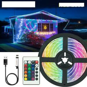 5V 2835 LED Light Strips Decoration Lighting USB Infrared Remote Controller Lamp
