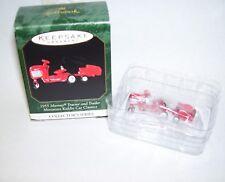 1999 Hallmark Murray Tractor and Trailer Miniature Kiddie Car Classics