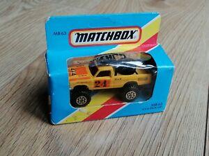 Matchbox Blue Box MB63 4x4 Pick Up Yellow