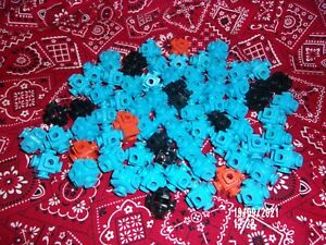 Fisher Price Construx 6-PEG 4-PEG 5-PEG CONNECTOR PART LOT OF 72 CHECK MY STORE