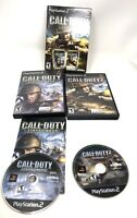 Call of Duty Legacy Playstation 2 PS2 Big Red One Finest Hour Tested