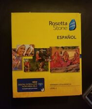 Rosetta Stone Spanish Latin America Level 1 Version 4 Brand New. Free Shipping