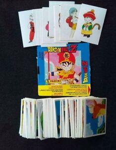 DRAGON BALL Z Panini 1991. BOLA DE DRAC Complete stickers set