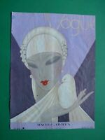 Original Cover Art Deco Benito Grip Magazine Vogue Unused 1927 May - 1 Page