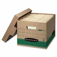 Bankers Box Stor/File 100% Recycled Extra Strength Storage Boxes, Letter/Legal,