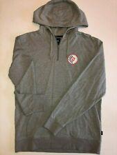 Vans New Checker Circle V Zip Pullover Hooded Sweatshirt Men's Size Medium