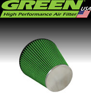 """Green Filter USA 2452 High Flow Universal Cone Air Filter Element 4"""" ID 7.8"""" L"""