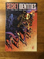 Secret Identities #1 1st Print Comic From Image Comics Key Collectible Issue 🔥