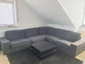 Couch Grau-blau