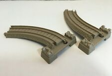THOMAS TRAIN TRACKMASTER PLASTIC TRACK ELEVATED CURVE 2 REPLACEMENT TAN BEIGE