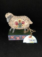 FIGURINE JIM SHORE HEARTWOOD CREEK FIGURINE - FOLK SHEEP MOUTON 4039494