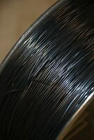 "Nitinol NiTi SMA muscle wire 1mm thick 31cm - 12"" uncut 80C Shape Memory Alloy"