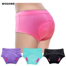 Damen Radfahren Unterhose 3D Gel Gepolsterte MTB Mountainbike Shorts Quick Dry