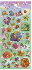 Garden Tea Time Stickers Sticker Sheet Thick PVC Kawaii Stationery Penpals