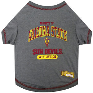 Pets First NCAA Tee Shirt for Dogs - Officially Licensed 50+ Colleges available.