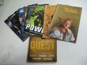The Signal (Firefly), Loot Crate, BAM Box magazine lot w/ QUEST map