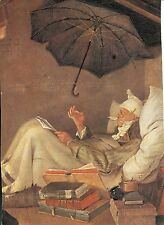 Alte Kunstpostkarte - Carl Spitzweg - Der arme Poet