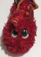 """Stuffies Dragon Plush 12"""" Baby Blaze Stuffed Animal Toy with Zipper Storage"""