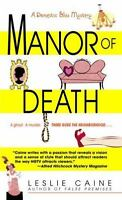 Manor of Death (A Domestic Bliss Mystery) by Caine, Leslie