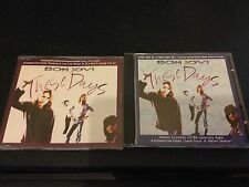 BON JOVI THESE DAYS 2 CD SET LIVE TRACKS AND CARDS