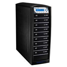 SharkBlu 1-9 Blu-Ray DVD CD Duplicator 500GB HDD USB 3.0 (LG Burner) BD-LG-9-BK