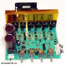 scheda modulo amplificatore audio finale con subwoofer 100+100+100 W montato