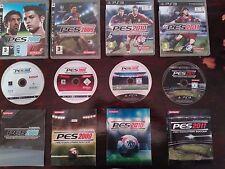 Lote Pro Evolution Soccer Futbol PlayStation 3 COMPLETOS Messi Cristiano Ronaldo