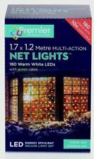 Premier Decorations 360 Warm White LED Multi Action Net Light