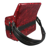 Adjustable Universal Accordion Leather Strap for 16-120 Bass-4 Color